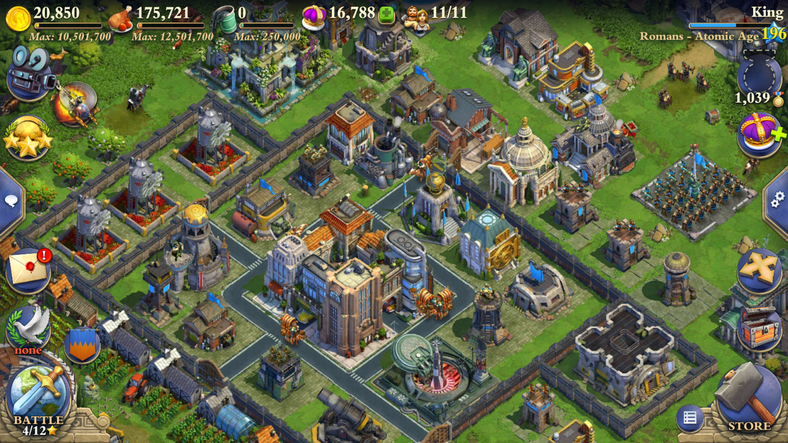 DomiNations- screenshot