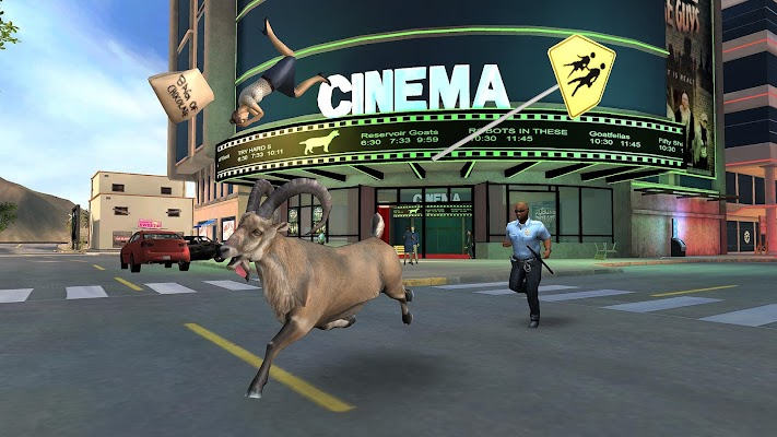 Goat Simulator Payday- screenshot