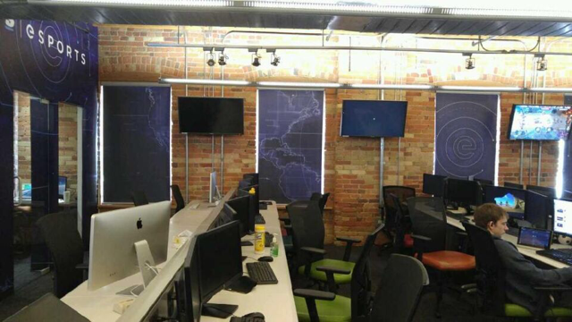Multiple shade office