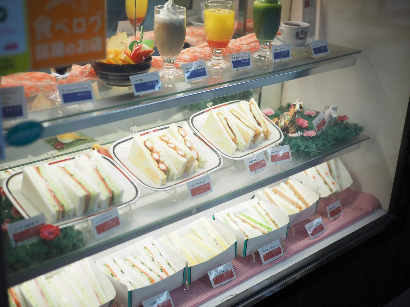 コンパルのサンドイッチ