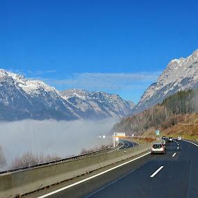 Werfen 2 - Austria by Andjela Miljan - Transportation Roads (  )