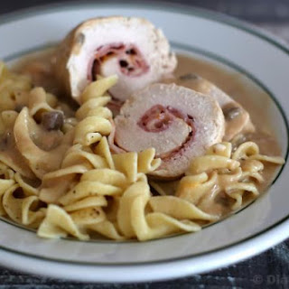 Crock Pot Chicken Cordon Bleu