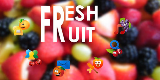 新鮮清新水果主題