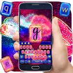 Glitter Lips Keyboard Theme icon