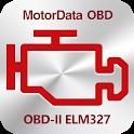 MotorData OBD Car Diagnostics. ELM OBD2 scanner icon