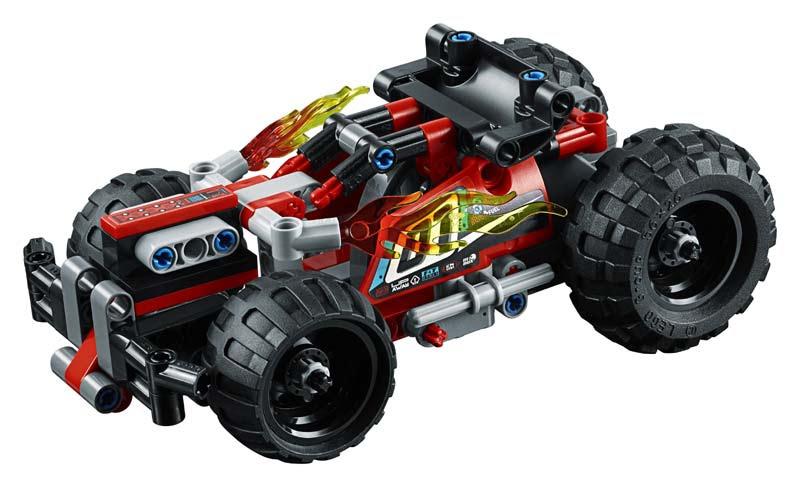 Contenido de Lego® 42073 ¡DERRIBA!