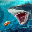 Angry Shark Ocean Simulator icon