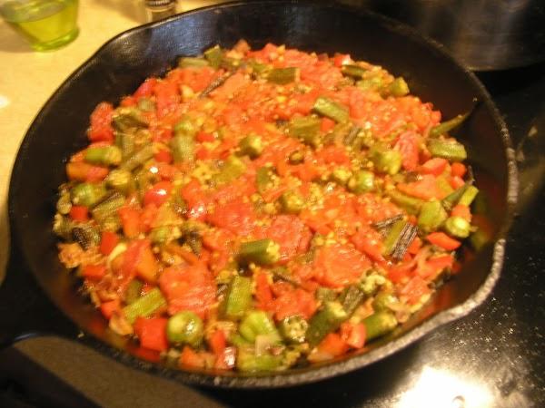 Tomato & Okra Recipe