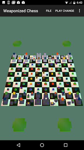 Weaponized Chess:chess+weapons cheat hacks