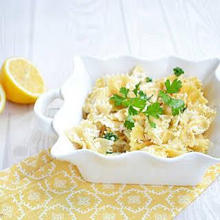 Lemon Pasta.