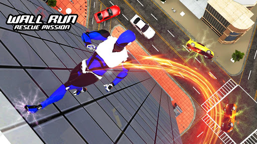 Police Robot Speedster: Cop Robot hero flash games
