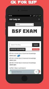 BSF Exam ~ GK in Hindi - náhled