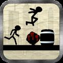 Stickman Runner Game icon