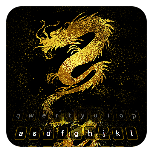 Golden Dragon Keyboard