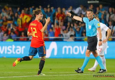 Spanje wint zuinig met 1-0 van Zwitserland