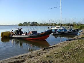Photo: Nog steeds vroeg .........de WV Randmeer commissieboten