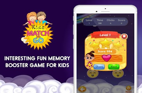 Kids Match and Go Cards Game- screenshot thumbnail