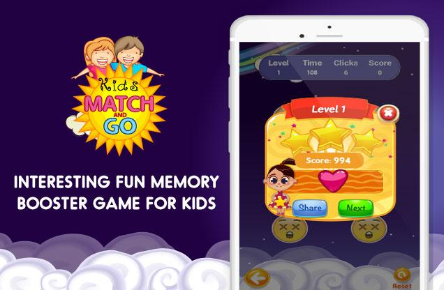 Kids Match and Go Cards Game- screenshot