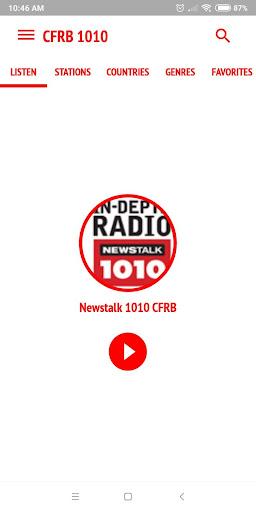 CFRB 1010 Newstalk Radio Toronto ss1