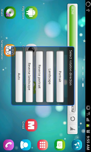 Screen Rotation Control 1.1.1 screenshots 2