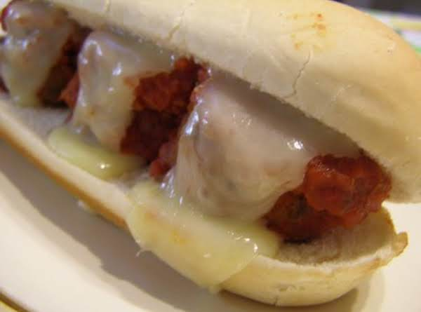 Meatball Sandwiches!