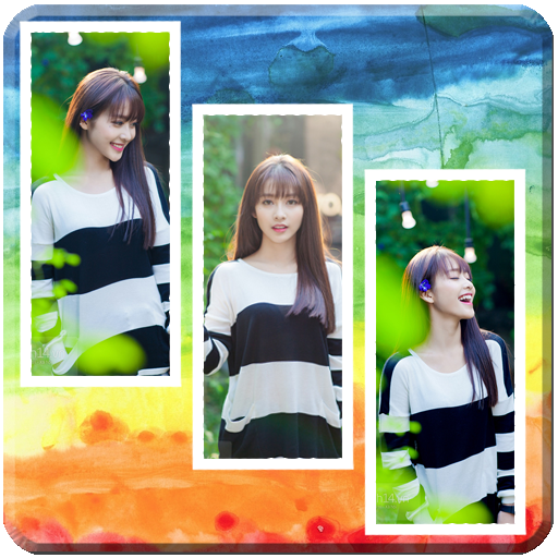 Colorful Collage Grid Photo