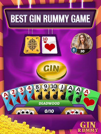 Gin Rummy Online - Multiplayer Card Game 14.1 screenshots 9