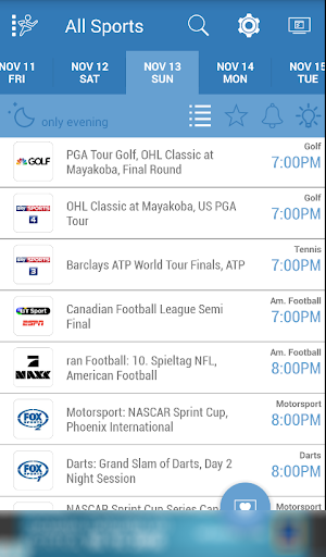 Download Live Sports TV Listings Guide for PC