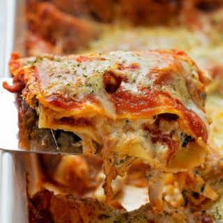 Insanely Good Chicken Lasagna.