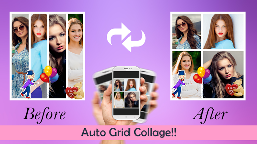 Automatic Grid Collage