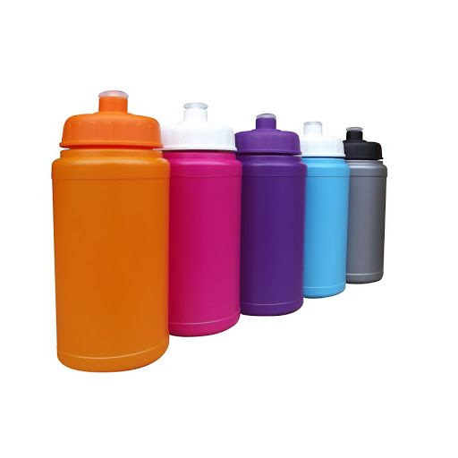 Sports Bottle with Handle - Red