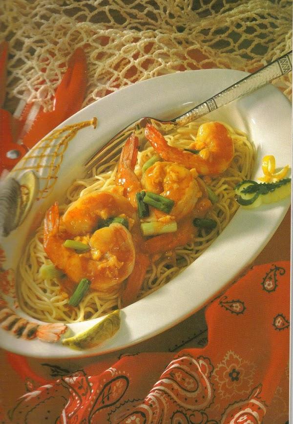Shrimp In Mock Lobster Sauce Recipe