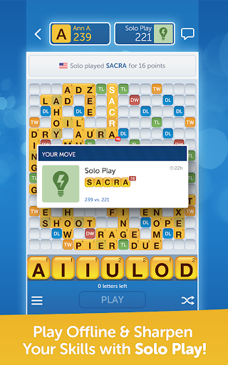 Words With Friends Free  screenshot 14