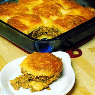 Robert Reed's Beef and Biscuit Casserole
