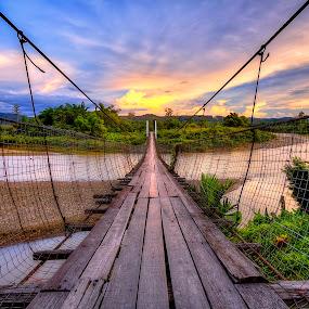 Village Bridge by Johan Wan - Buildings & Architecture Bridges & Suspended Structures ( hdr, bridge )