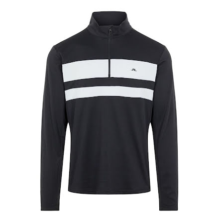 J Lindeberg Golf Bran Midlayer Black