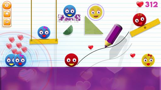 Love Ball - Physics Puzzle 1.1.2 screenshots 9