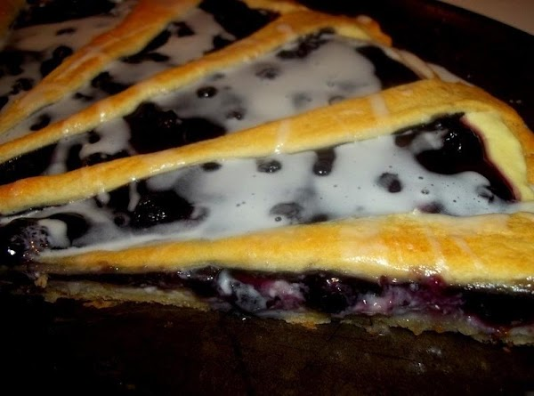 Cut into wedges to serve. This dessert pizza can be served warm or cold.