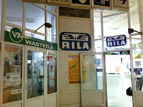 Photo: Gare Centrale Sofia (Sofia Central Train Station).  International ticket counter = RILA.