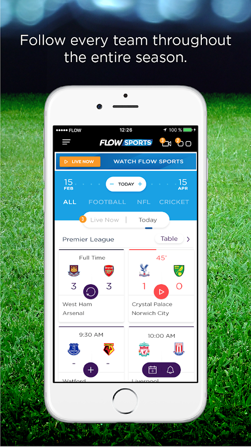 Flow Sports- screenshot