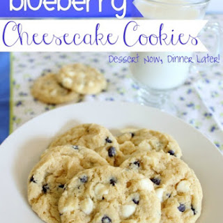 Blueberry Cheesecake Cookies.