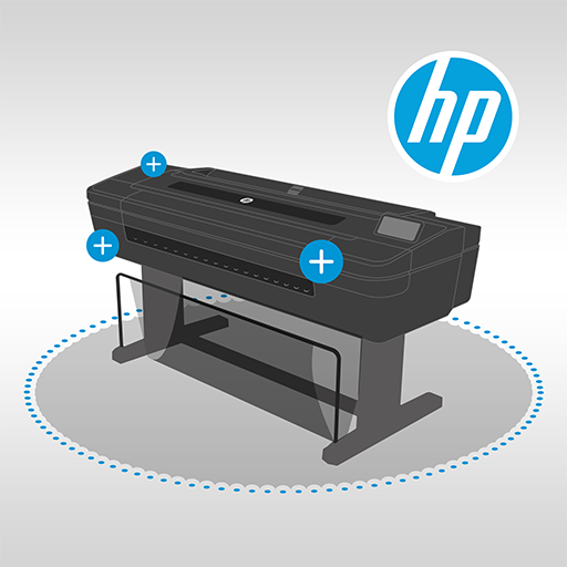 HP DesignJet Virtual Demo Icon