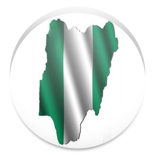 Simple Nigeria Map Offline