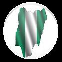 Simple Nigeria Map Offline icon