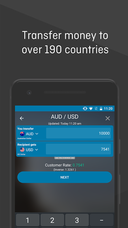 Ozforex travel card app