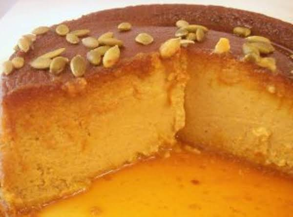 Flan De Calabaza- Pumpkin Flan Recipe