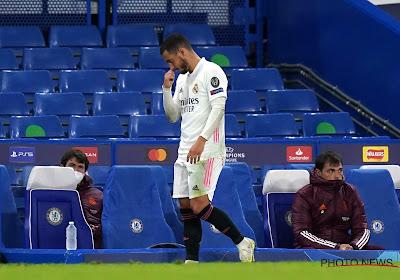 """Zidane calme le jeu autour de Hazard : """"Il ne se passe rien de grave avec lui"""""""