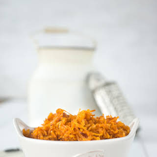 Grated Sweet Potatoes with Smoked Paprika.