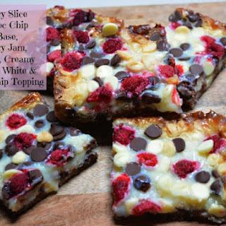 Raspberry Chocolate Slice Recipe