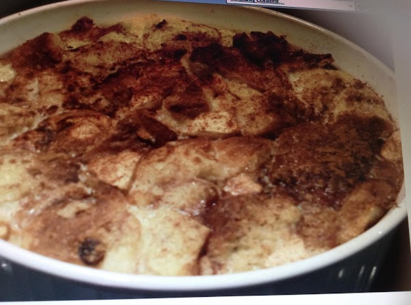 Apple And Bread Pudding Recipe